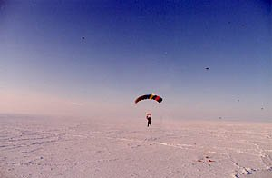 North Pole skydiving