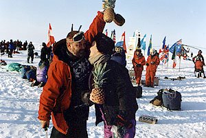 kiss on the North Pole